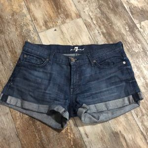 7 For All Mankind | Jean Shorts Size 29